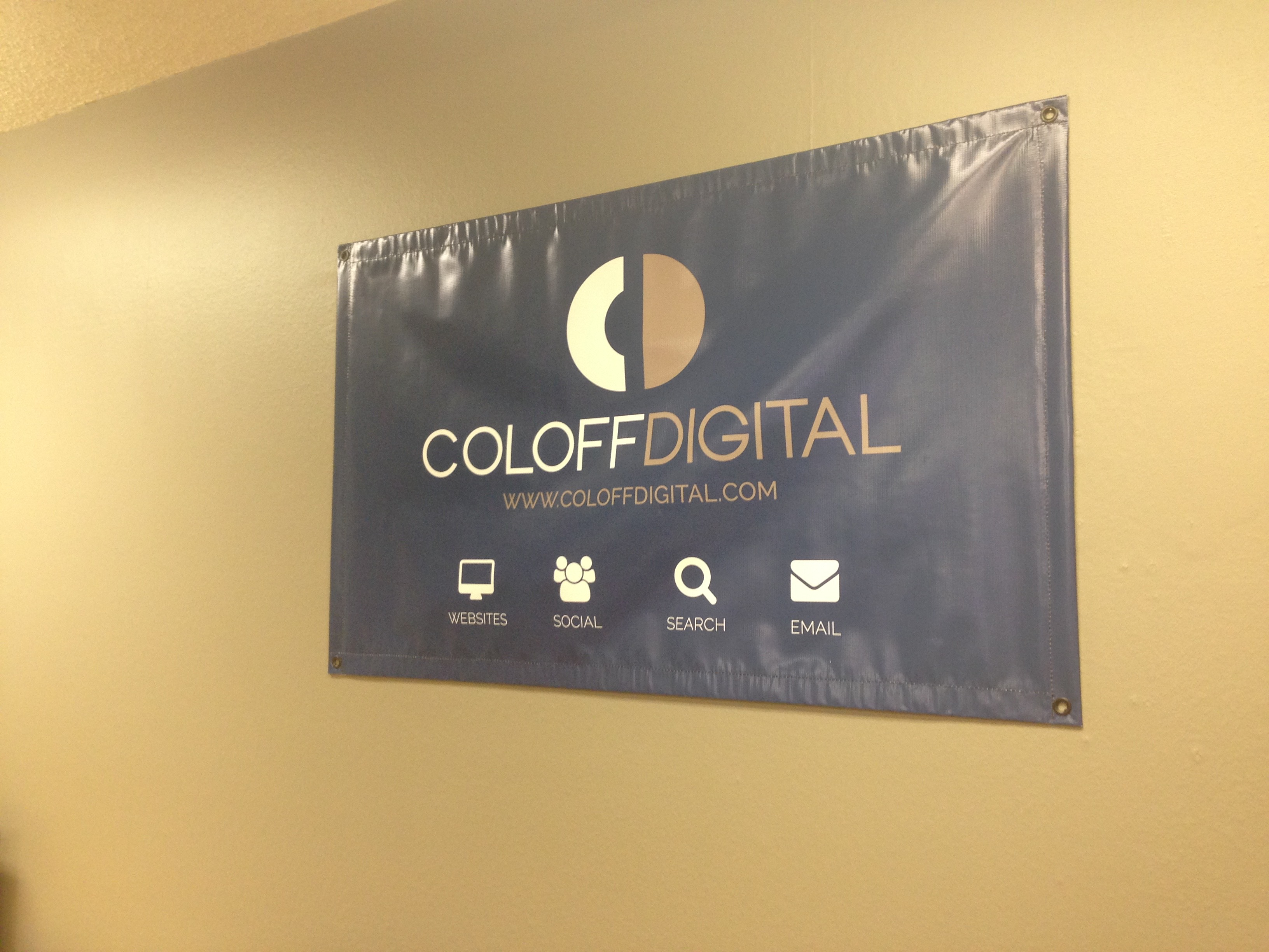 Making the new office official!