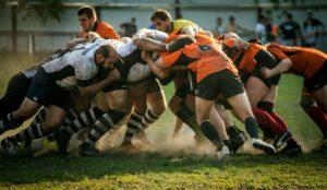 Rugby-teamwork