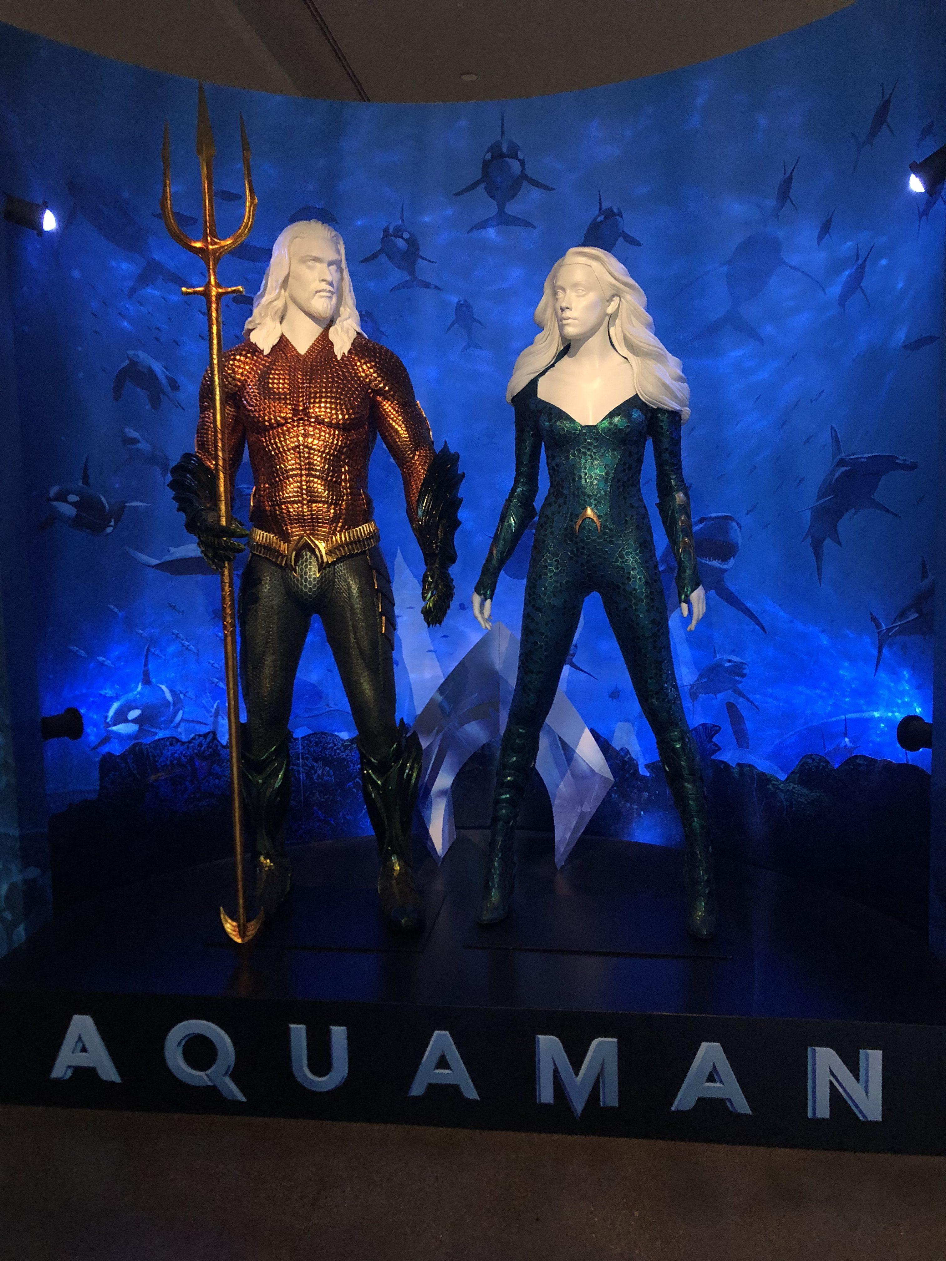 Aquaman new costumes